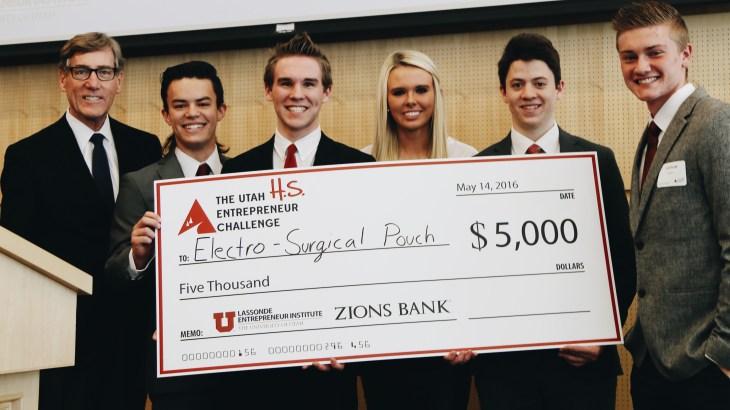 High School Utah Entrepreneur Challenge Winners 2016