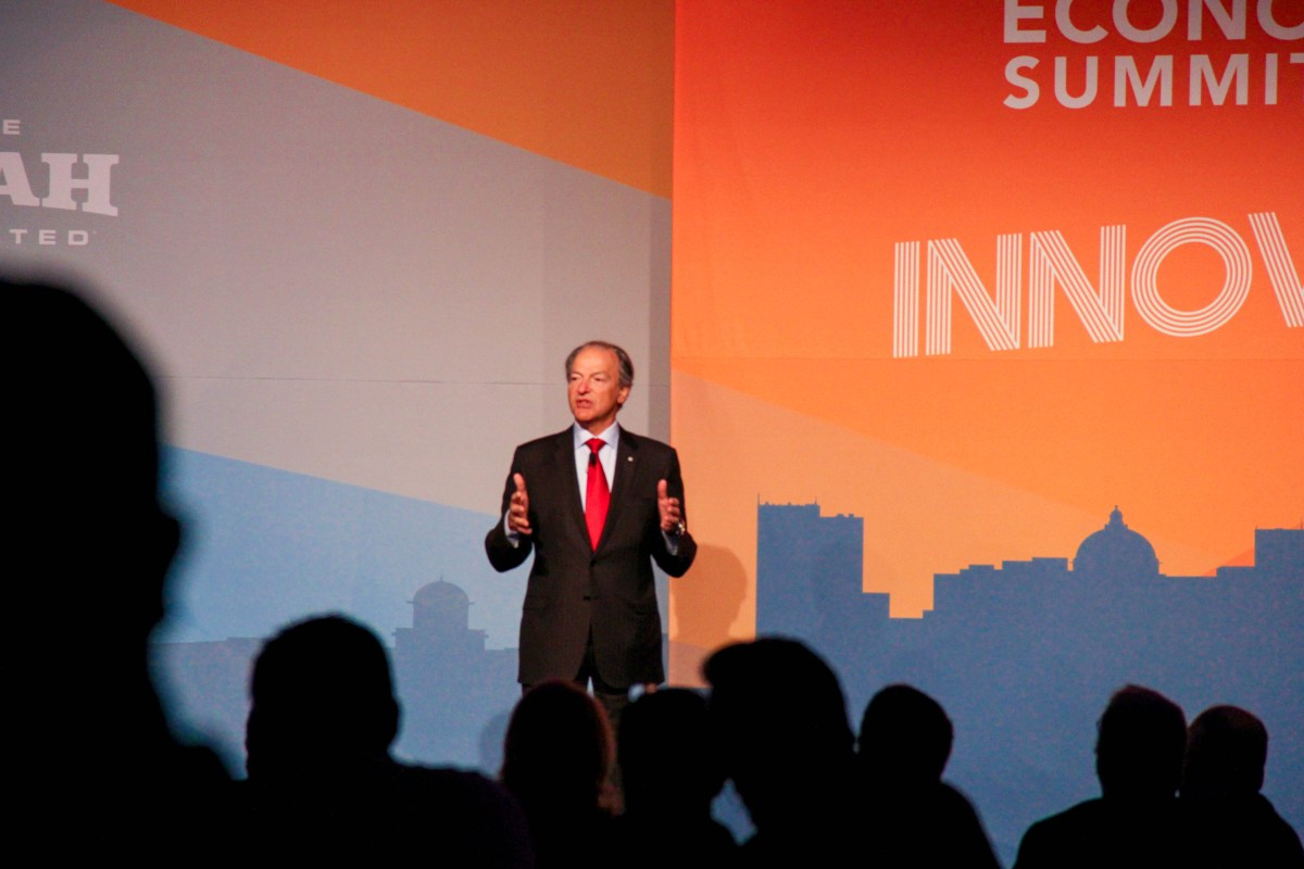 Pierre Lassonde keynote at 2016 Governor's Utah Economic Summit