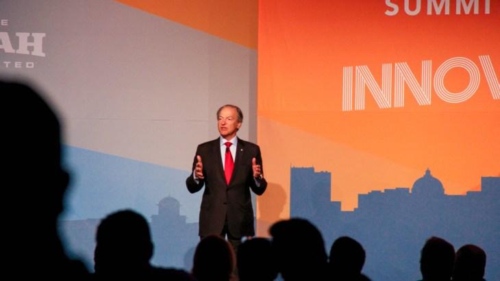 Pierre Lassonde keynote at 2016 Governor's Utah Economic Summit