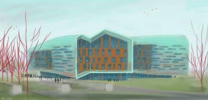 Lassonde Studios concept sketch