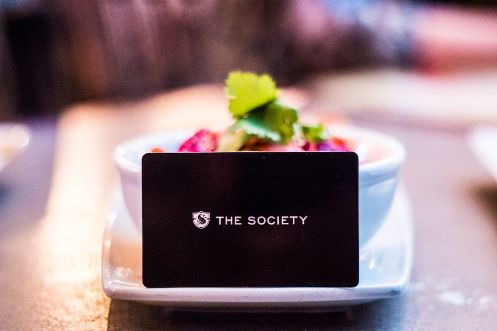 The Society Nightlife Card