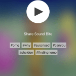 Blerp soundbite sharing app