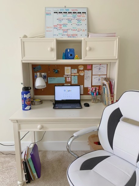 "Ashley Thai: ""This is the one area of my life that is always organized and keeps me on task. It's the only place where I am in full productivity mode!"""