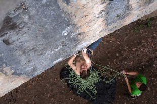 Frankenjura klettern climbing Ringlerwand Bella