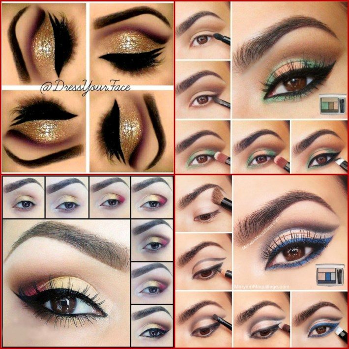 perfect makeup for brown eyes | day, night, evening