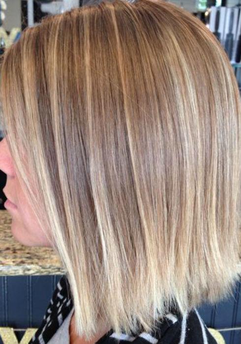 Balayage On Straight Hair Short Medium Length Long