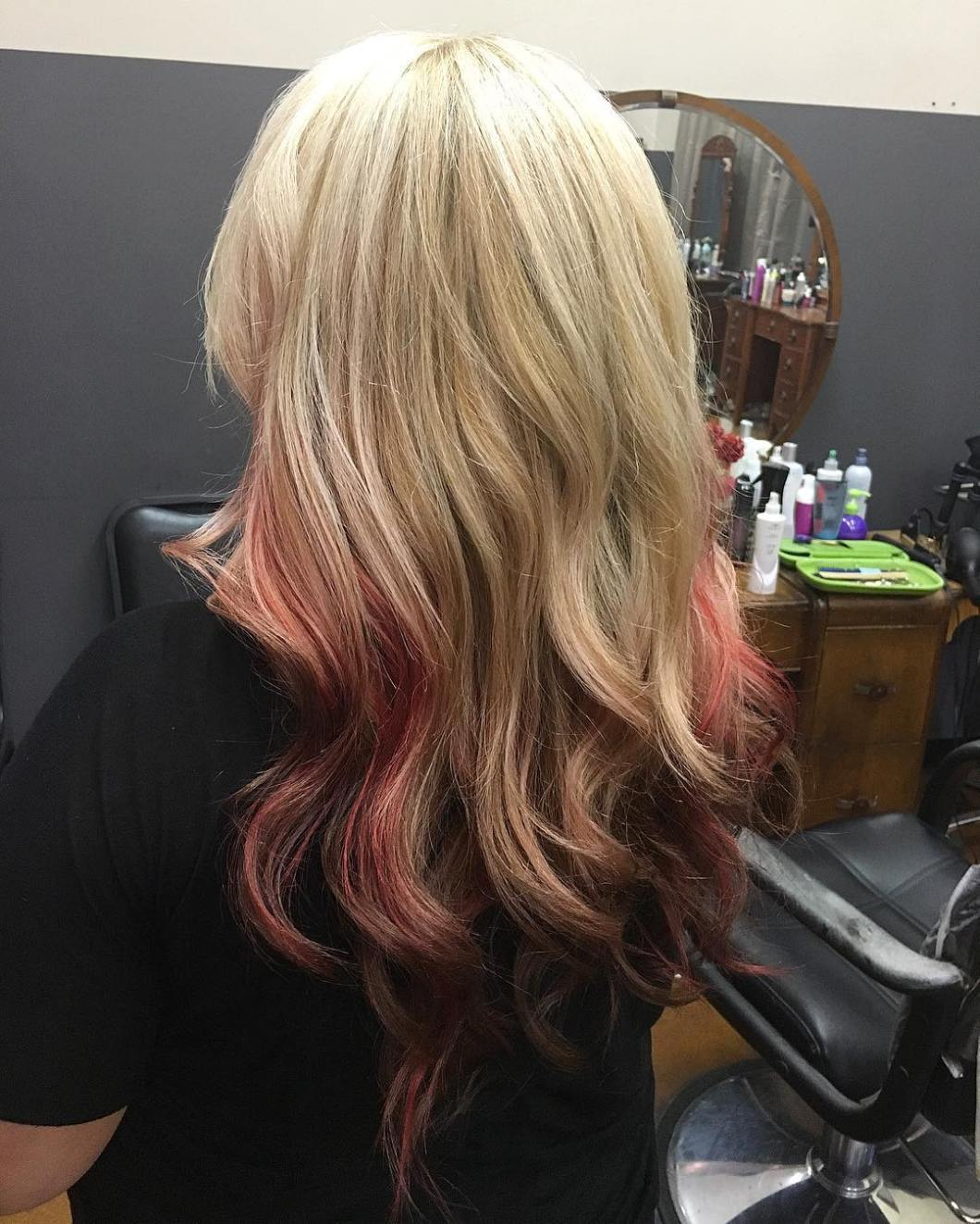 Reverse Ombre Hairstyles Amathairco
