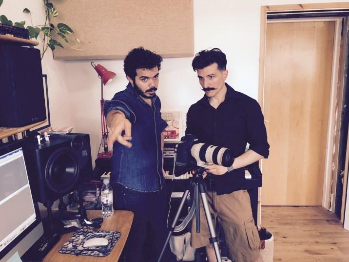 Sergio Maggiolo and Vincenzo Marranghino