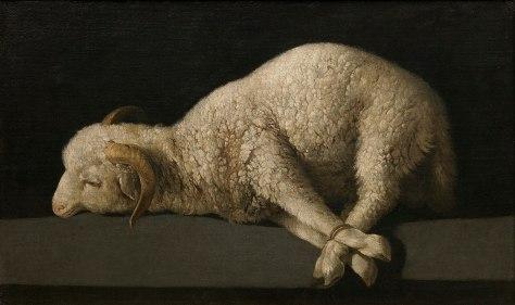 Jesus sacrificed himself as the Passover lamb.