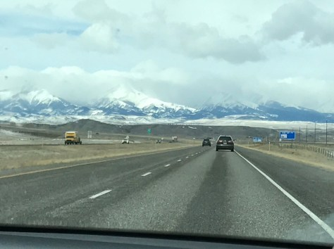 First View of the Rockies!