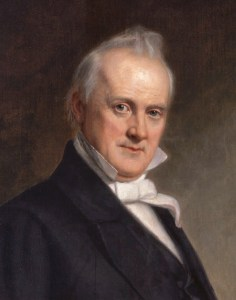 James Buchanan (1791 - 1868) *oil on canvas  *155.9 x 119.7cm  *1859