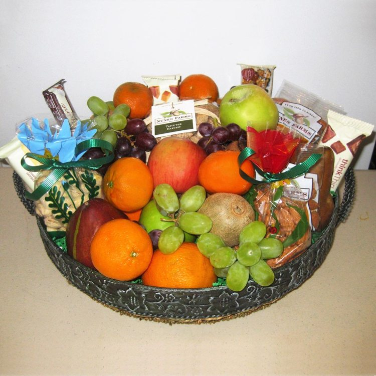 Fruitful gift basket