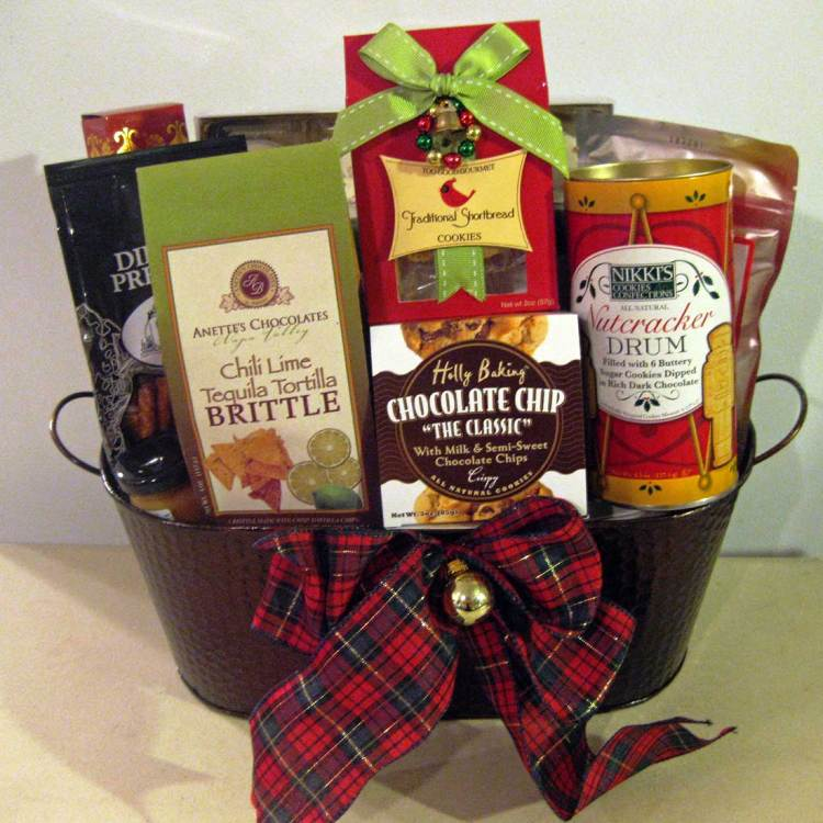 Sunset Boulevard holiday gift basket