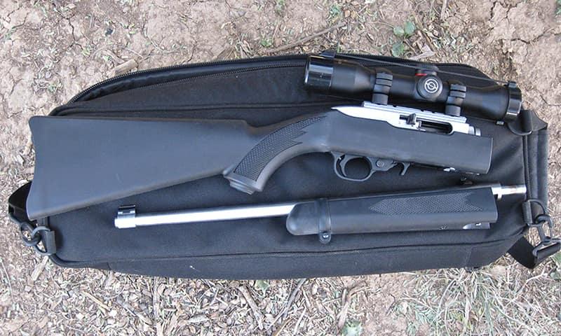Ruger 10-22 Takdown - лучшее оружие из винтовок .22 калибра, умещающихся в рюкзак.