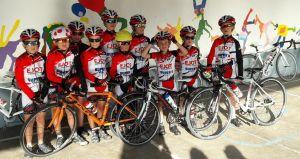 Les jeunes steigeois au Petit Tour de Vosges