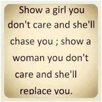 stop chasing men