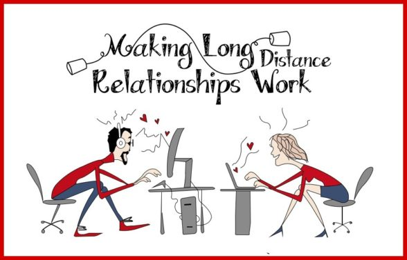 Online dating for long distance relationships