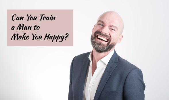 train a man