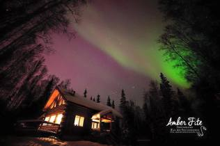 Aurora in Fairbanks by Amber Fite Photography! March '15