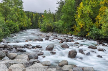 The Little Su River in early fall. www.cecilsandersphotography.com