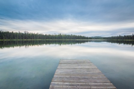 Freeman Lake a few miles outside of Talkeetna. Photo by Cecil Sanders Photography / www.cecilsandersphotography.com