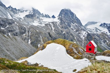 The Mountaineering Club's cabin near the end of Gold Mint Trail. www.cecilsandersphotography.com