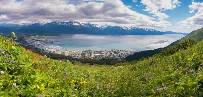 A view of Seward. - Copyright 2016   Cecil Sanders Photography