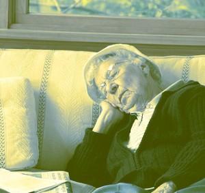 napping woman courtesy of eflon
