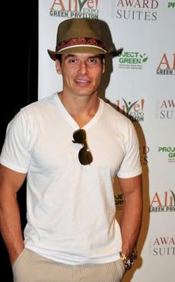 Antonio Sabato Jr. at ALIVE expo.