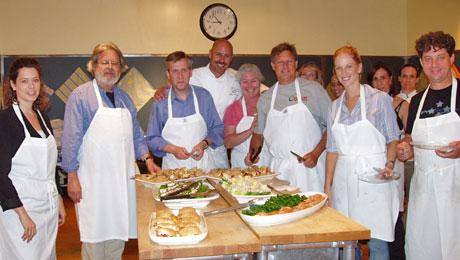 Chef Warren Schwartz cooking class