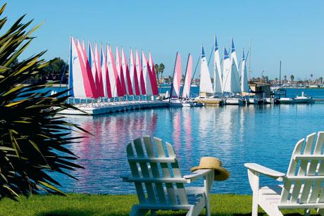 The Marina at Paradise Point
