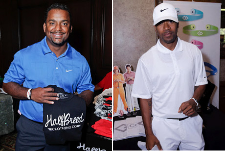 Alfonso Ribeiro with Half-Breed Clothing and Columbus Short