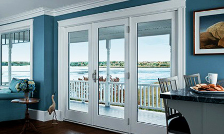 Gorgeous patio doors from Dial One Windows. Transform your home!