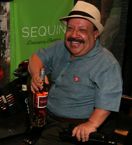 Chelsey Lately's Chuy Bravo with Sequin Wines