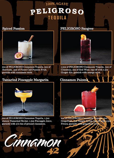 Pelligroso Cinnamon Tequila