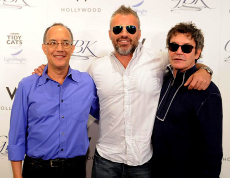 David Crane, Matt LeBlanc and Jeffrey Klarik