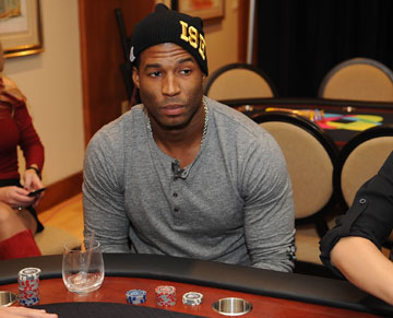 Robert Christopher Riley at Celebrity Poker Tournament
