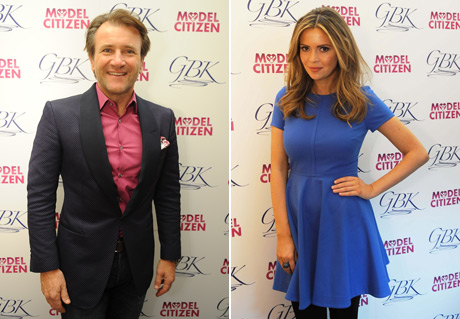 Robert-Herjavec,-Carly-Stee