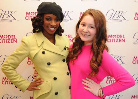 Shanola Hampton and Emma Kenney