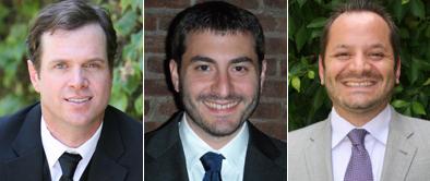 Dazadi founders, brothers Jason Boyce, Elan Klaristenfeld and Josh Klaristenfeld