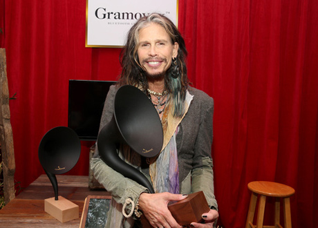 Steven Tyler at the Grammy Gift Lounge