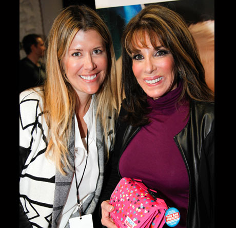 Soap star Kate Linder with PackIt - Photo: Karen Reuter