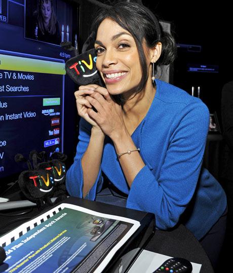 Rosario Dawson with TIVO