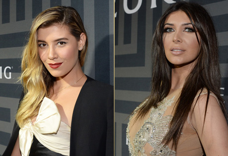 Actress Michelle Salis and TV Personality Brittny Gastineau