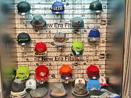 New Era Hats at the Grammy Lounge
