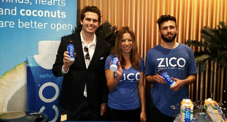 LATP's Tyler Emery with the crew from Zico.