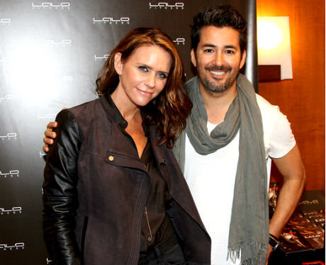 Amy Landecker and celebrity trainer Lalo Fuentes