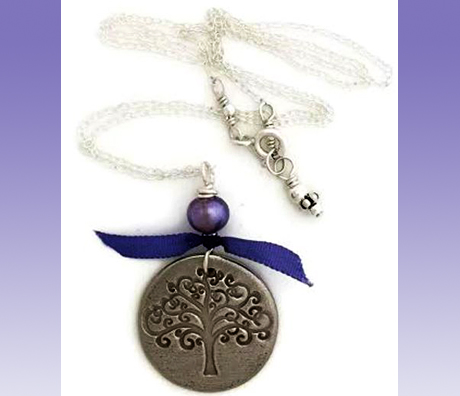 Karmic Serenity Necklace by Delia's Delight Jewelry