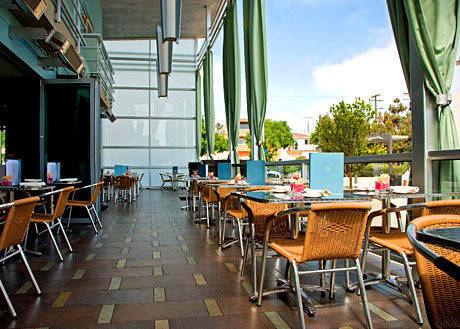 zinc restaurant at shade hotel manhattan beach