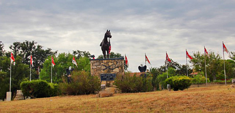 Fort Clark Entrance